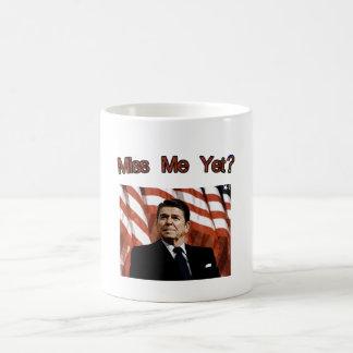 Miss Me Yet?  President Reagan Basic White Mug