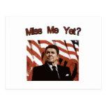 Miss Me Yet?  Reagan Posterised Post Cards