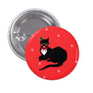 """""""Miss Molly"""" Holiday Button"""
