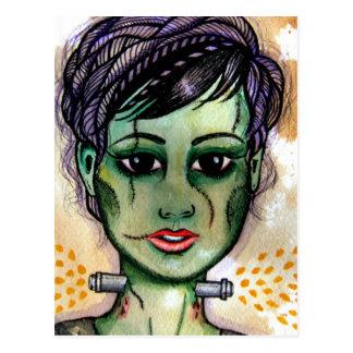 Miss Monster Postcard
