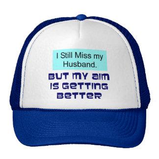 Miss my Husband Mesh Hats
