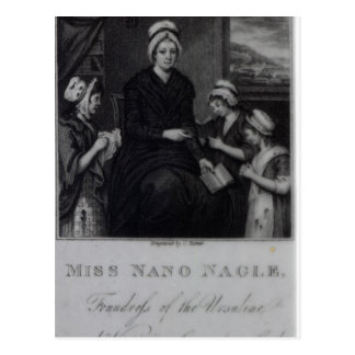 Miss Nano Nagle, 1809 Postcard