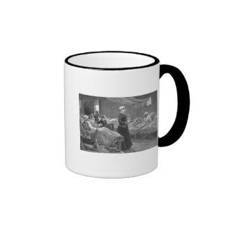 Miss Nightingale in the Barrack Hospital Coffee Mugs