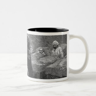 Miss Nightingale in the Barrack Hospital Two-Tone Coffee Mug