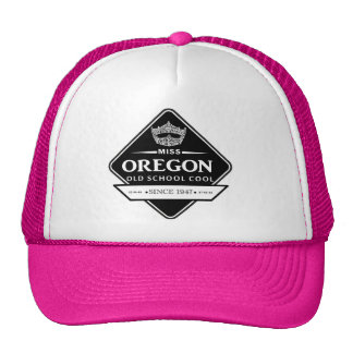 Miss Oregon Old School Hat