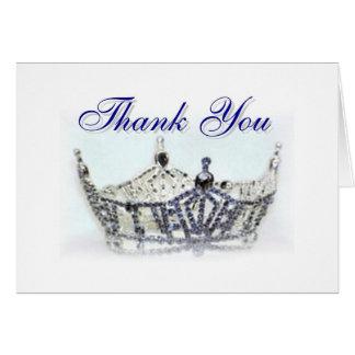 Miss Oregon Thank You Card