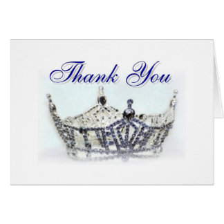 Miss Oregon Thank You Greeting Card