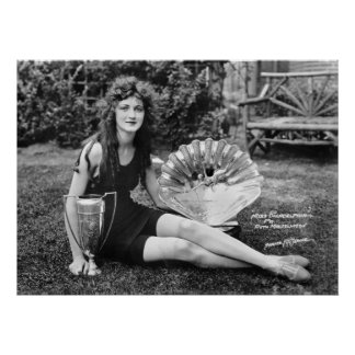 Miss Philadelphia: early 1900s Poster