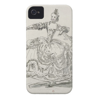Miss Puvigne as The Living Statue, in Pigmalion, a iPhone 4 Case
