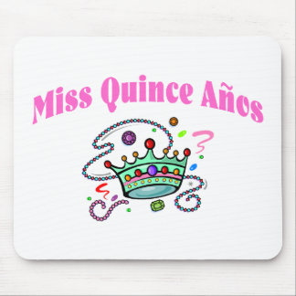 Miss Quince Anos Mouse Pad