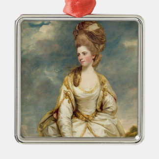 Miss Sarah Campbell, 1777-78 (oil on canvas) Christmas Ornament