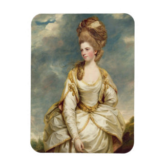 Miss Sarah Campbell, 1777-78 (oil on canvas) Rectangular Photo Magnet