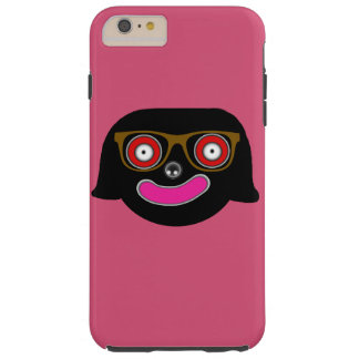 miss smiley face with glasses iPhone 6 Plus Tough iPhone 6 Plus Case