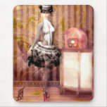 Miss Steampunk Mouse Pad