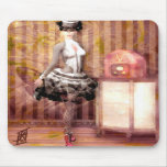 Miss Steampunk Mouse Pads