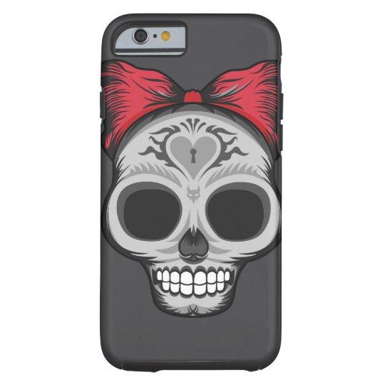 Miss Sugar Skull - Halloween Sale Tough iPhone 6 Case