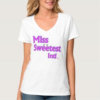 Miss Sweetet Intl. womens tshirt