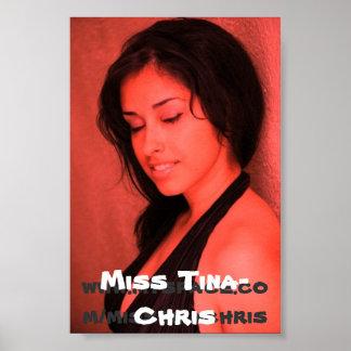 Miss Tina-Chris Poster