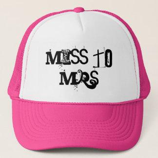 Miss to Mrs Trucker Hat