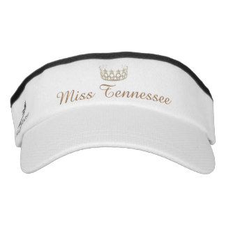 Miss USA Champagne Crown Visor  Hat