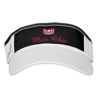 Miss USA Cherry-Red Crown Visor  Hat
