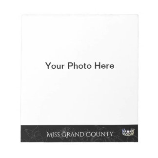 Miss USA Flourish Silver Crown Autograph Pad