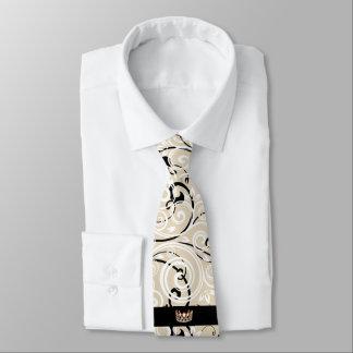 Miss USA Gold Crown Men's Flourish Tie