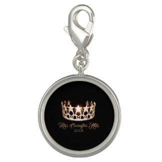 Miss USA Gold Crown SP Charm-Custom Name