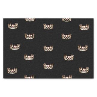 Miss USA Gold Crown Tissue Paper