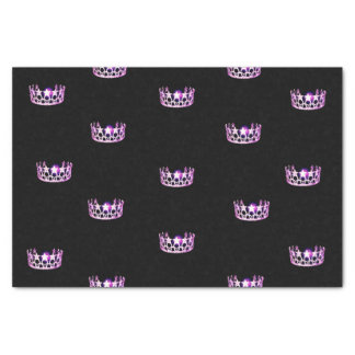Miss USA Orchid Crown Tissue Paper