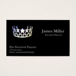 Miss USA Personalized Pageant Business Card