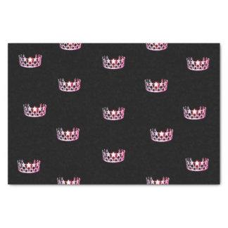 Miss USA Pink Crown Tissue Paper
