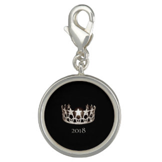 Miss USA Silver Crown SP Charm-Custom Name