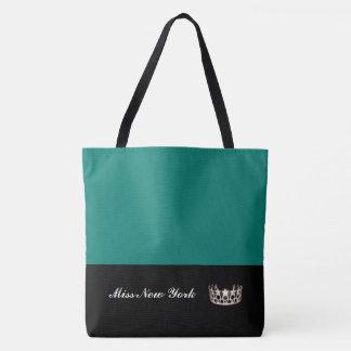 Miss USA Silver Crown Tote Bag-Large Bahama