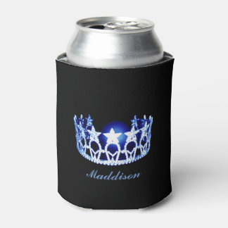 Miss USA style Crown Custom Can Cooler
