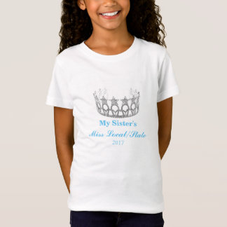 Miss USA style Girls Top-My Sisters' Miss... T-Shirt