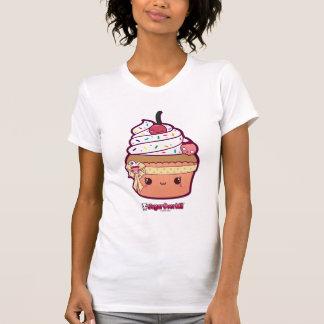 Miss Vanilla Kawaii Cupcake T Shirts