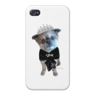Miss Winkie, The Diva, iPhone 4 Glossy Finish Case Cover For iPhone 4