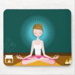 Miss Yoga Mousepad