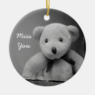 """""""Miss You"""" Ornament"""