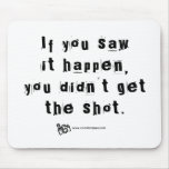 Missed Shot Quote v.2 Mousepad