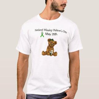 Missing Children' s Day Men's Basic White T-Shirt