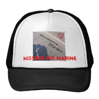 Missing My Marine hat