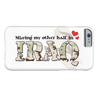 Missing my other half in Iraq Barely There iPhone 6 Case