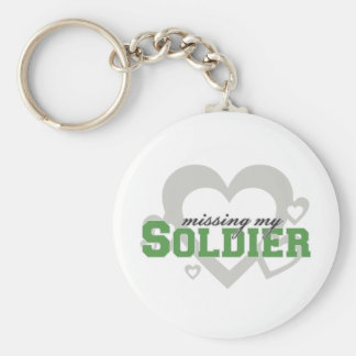 Missing My Soldier Keychains