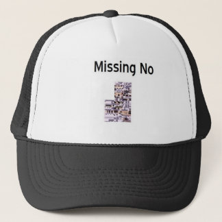 Missing No Product Trucker Hat