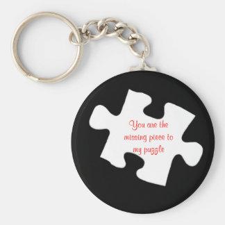 Missing Piece Keychain