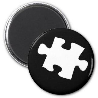 Missing Puzzle Piece Magnet