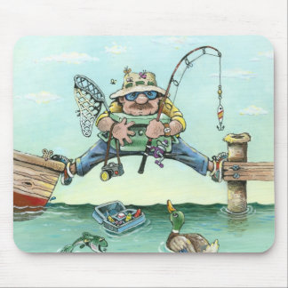 Missing The Boat Mouse Mat