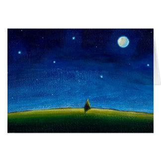 Missing You art The Stars Are Calling, Colin Greeting Card